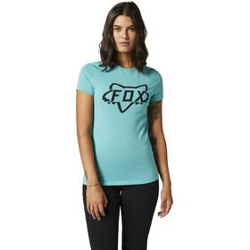 Fox Division Kurzarm Tech T-Shirt Damen türkis